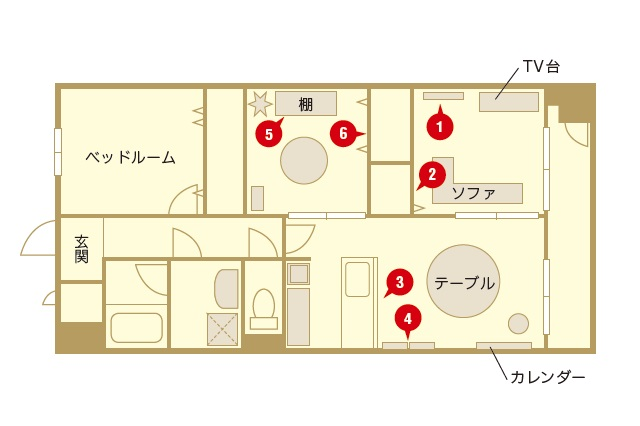 3人暮らしにピッタリな間取りの2LDKに住んでいる|【インテリアコーディネート術】インスタグラマーに聞く2LDKでシンプルに暮らすコツ
