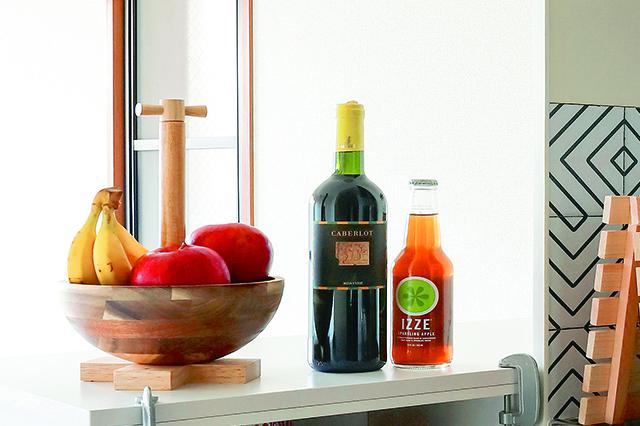調度いいサイズ感と安定感!|ニトリの木製ボウルでお菓子&カップ入れを作ろう!