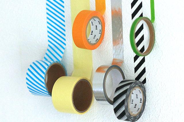 マスキングテープは幅広になると粘着力はやや強くなる|【賃貸DIY】貼るだけで部屋の雰囲気が変わる! マスキングテープで壁の模様替え