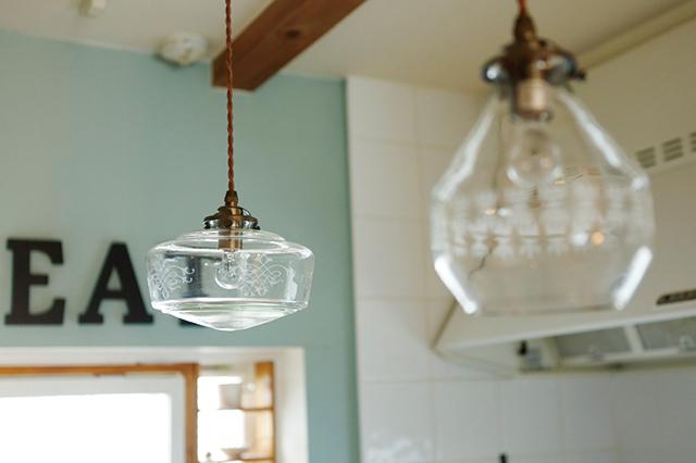涼しげでクリーンなデザインのシェードがキッチンにぴったり|賃貸でもおしゃれに!部屋の照明の選び方を整理収納アドバイザー・村上直子さんに聞いてきた