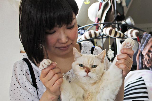 「部屋を気に入っている人~?」「は~い」なんていう会話が聞こえそう|【猫との暮らし】中野のワンルームで愛猫と暮らす女性に、ペット可物件を探すコツを聞いた