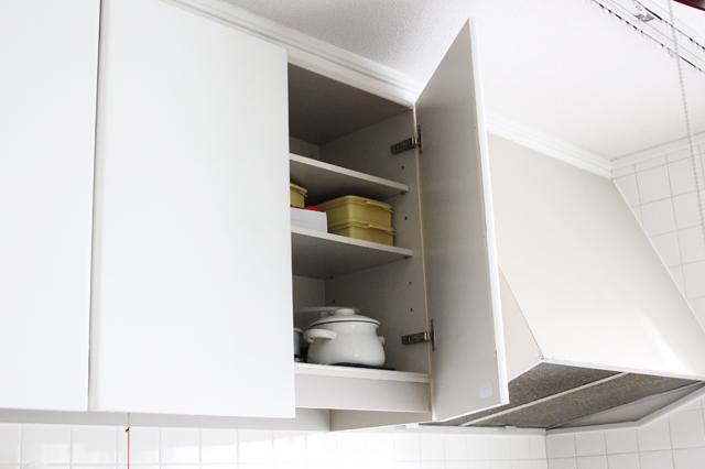 鍋に料理が残っている時は、バロンが開けられない冷蔵庫やキッチン上段の棚の中へしまう|猫の誤飲防止対策|【猫との暮らし】都心から練馬のメゾネット賃貸へ引っ越し。猫が吐かなくなった理由とは?