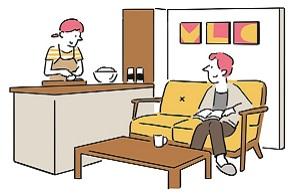 同棲前にチェック!二人暮らしの間取りは1LDK、2DKどっちがいい?メリット・デメリットと先輩カップルの体験談