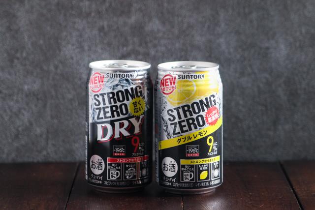 ガツンと強いアルコール度数と飲みやすさ、そして安さがストロングゼロの人気の理由!|アルコール度数9度のストロングゼロをSNS映えするキラキラ系にアレンジしてみた