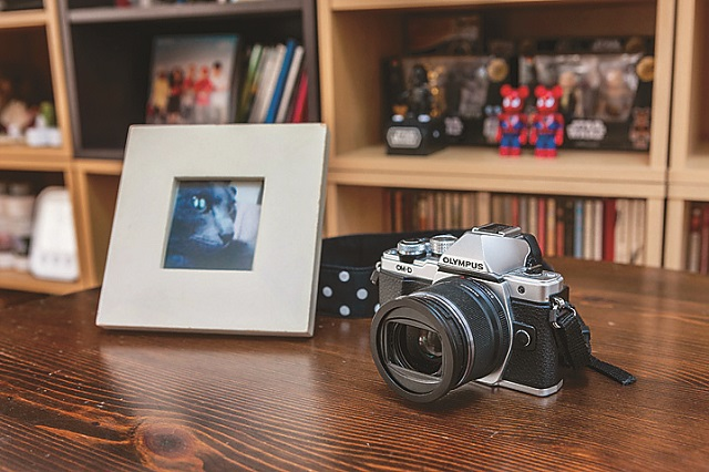 趣味のカメラで撮影した写真を和室の壁面にディスプレイしようと計画中|レトロな一軒家に女性一人暮らし!築年数が古い賃貸物件をあえて選んだ理由や魅力とは?