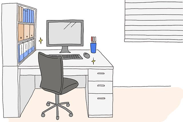 「使わない物はしまう」を習慣づけて、いつもきれいなデスクで運気をアップさせよう|風水で仕事運アップの秘訣は机にあり!?中国命理学研究家林秀靜さんに聞いた運気を上げるコツ