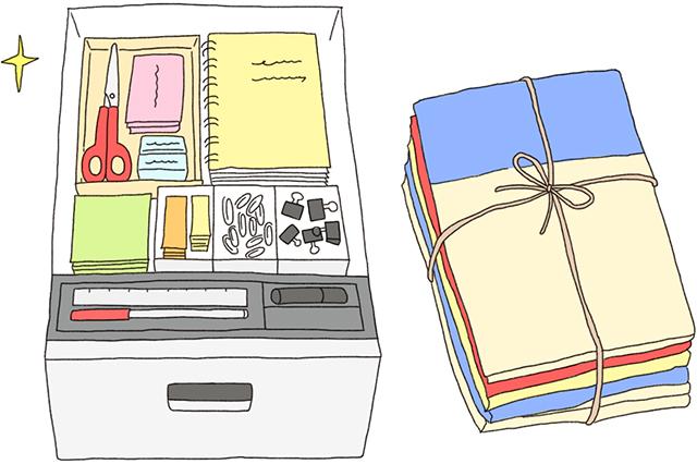 机の上や引き出しの中がごちゃごちゃな人は、忙しくても一度きちんと整理整頓しよう|風水で仕事運アップの秘訣は机にあり!?中国命理学研究家林秀靜さんに聞いた運気を上げるコツ