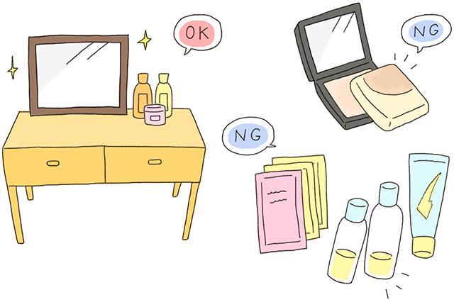 ドレッサーまわりは常に整理整頓して。使わない化粧品をとっておくと魅力が激減|出会いの春、風水で恋愛・結婚運アップのコツを中国命理学研究家 林秀靜さんに聞いてきた