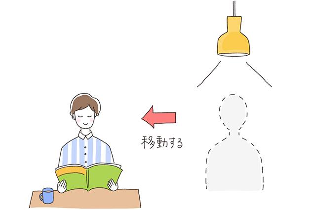 家具を移動するだけで、凶を改善できる。もし照明が真上にきている人はできるだけ早く移動しよう|いざ開運! 運気を良くする模様替えの方法を中国命理学研究家林秀靜さんに聞いてきた
