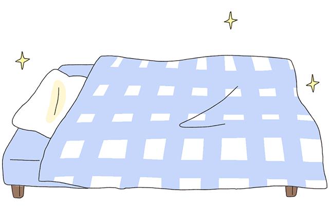 寝具のこまめな洗濯や取り替えなど、寝室をできるだけ丁寧に清潔感を保てるよう心がけよう|いざ開運! 運気を良くする模様替えの方法を中国命理学研究家林秀靜さんに聞いてきた