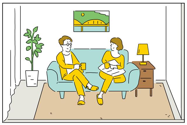 一人暮らしにおすすめな1DKと、二人暮らしにぴったりな1LDK。それぞれの特徴と快適に使うワザをご紹介