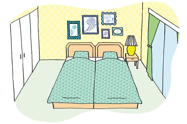 二人暮らしの寝室の作り方