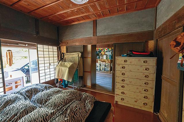 祖父江さんファミリーが暮らす古民家賃貸物件の室内