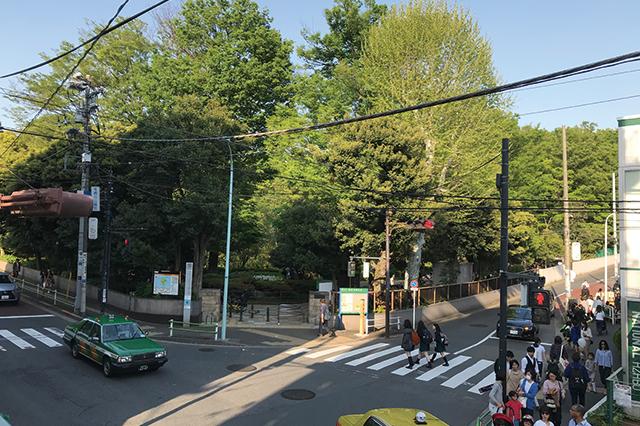 駅からほど近くにある有栖川宮記念公園|高級住宅街・広尾で楽しむ銭湯生活!広尾湯、宝来湯、アクアガーデン三越湯を巡ってきた