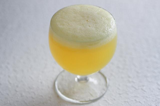父の日のお菓子レシピ・ビール風ゼリーの作り方:本物そっくりなビール風ゼリーのできあがり