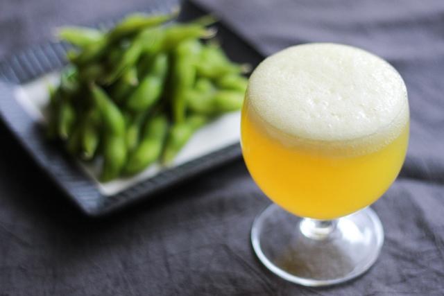 父の日のお菓子レシピ・ビール風ゼリー