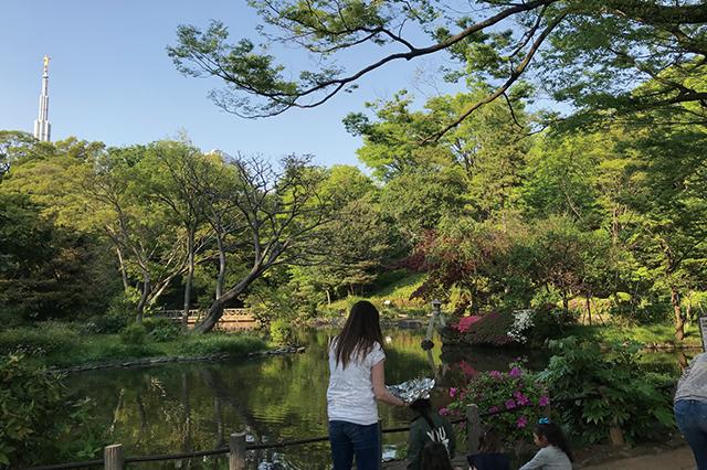 ハイキング気分が手軽に味わえる|有栖川宮記念公園の園内|高級住宅街・広尾で楽しむ銭湯生活!広尾湯、宝来湯、アクアガーデン三越湯を巡ってきた