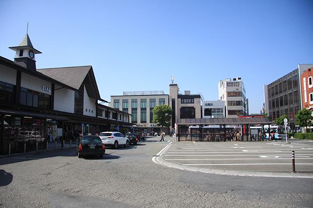 鎌倉駅東口ロータリー