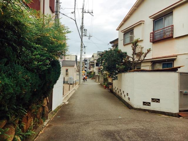 武庫川の住宅街