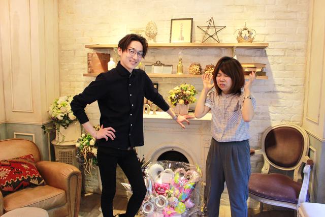 表参道「ROI」のカリスマ美容師・関田さんに、湿気で髪がボサボサだと嘆く木村