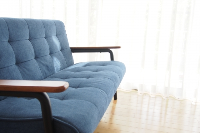 ソファがあれば一人でゆっくりとくつろげる