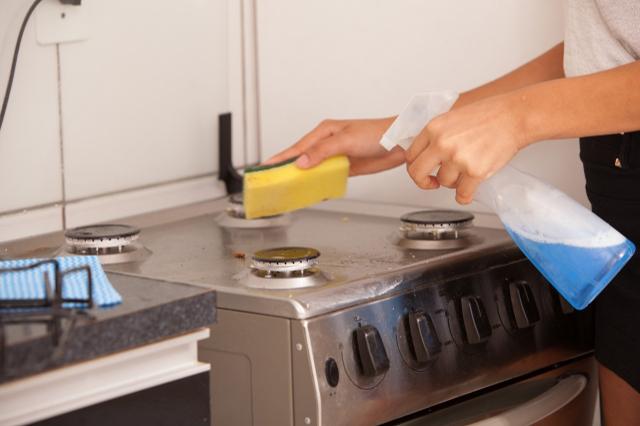 キッチン周りの掃除