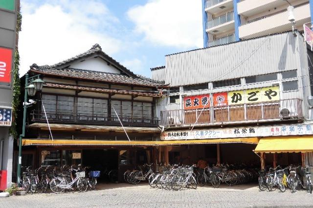 久喜駅西口の駐輪場