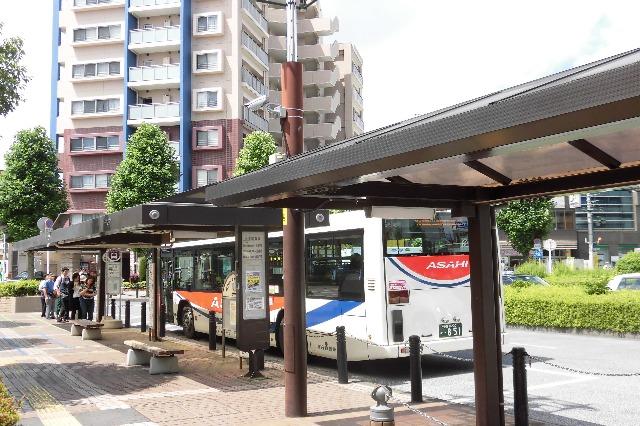 久喜駅西口のバス停