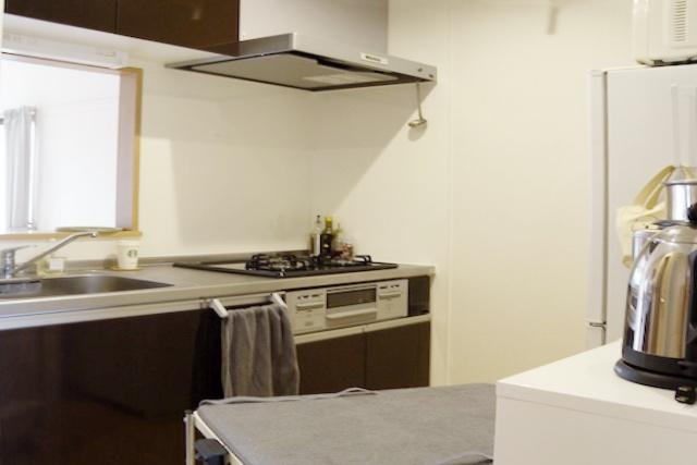 スッキリ整えられたmiwaさんのキッチンまわり