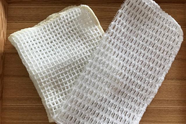 速乾性のあるメッシュ素材のクロス