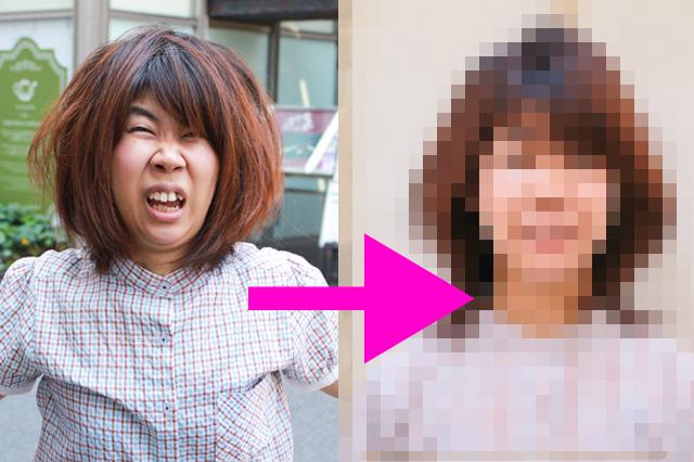 湿気で髪がヤバイことになっているCHINTAI編集部の木村