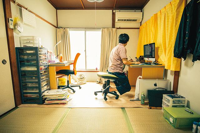 漫画家・じぇんじぇんさんが住む、中野の家賃4万5000円のアパート