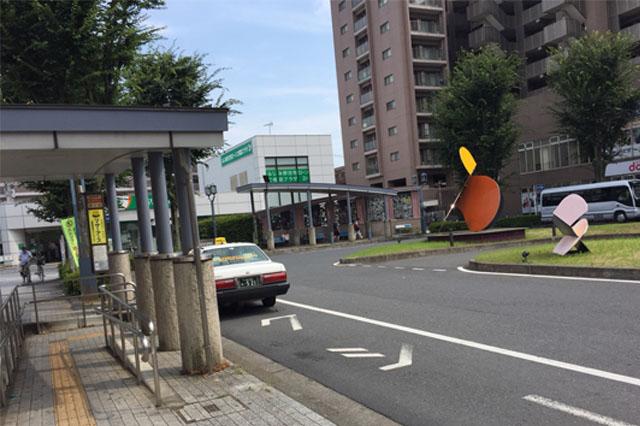 ふじみ野駅西口駅前ロータリー