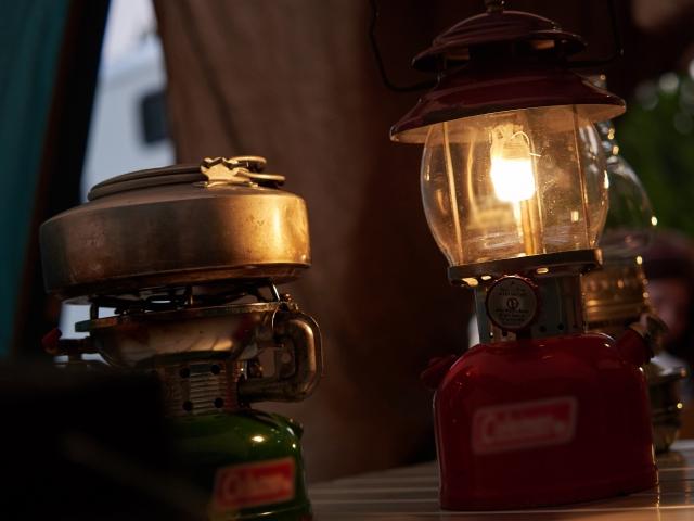 室内の照明を消すとより幻想的な雰囲気に