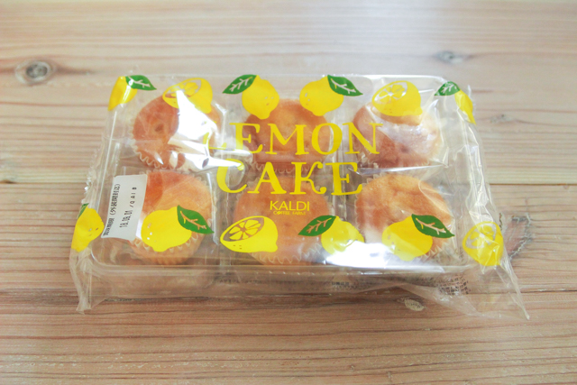 カルディオリジナル レモンケーキ 6p|388円(税込)