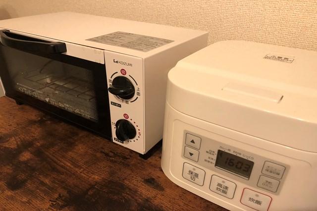 熱を発生させる家電はアンペア数が多い傾向