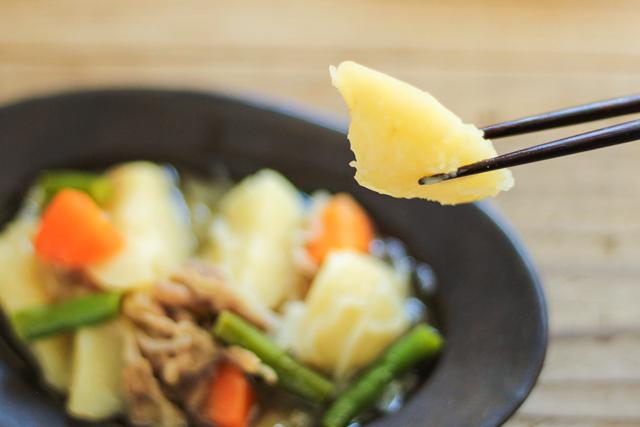 無印良品の冷凍食品「肉じゃが」の試食