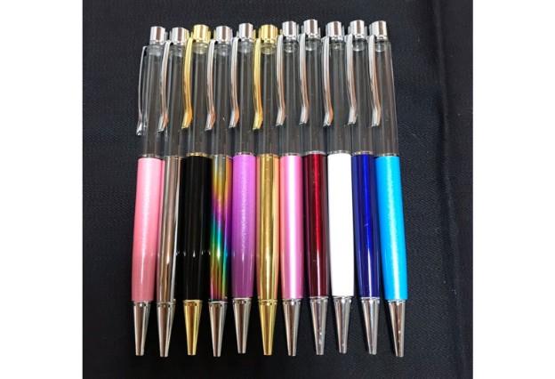 ハーバリウムボールペン本体のカラーバリエーション