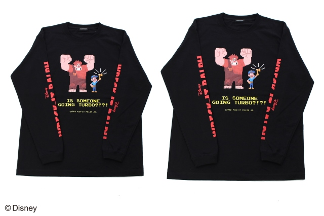 ラルフの黒のロングTシャツ