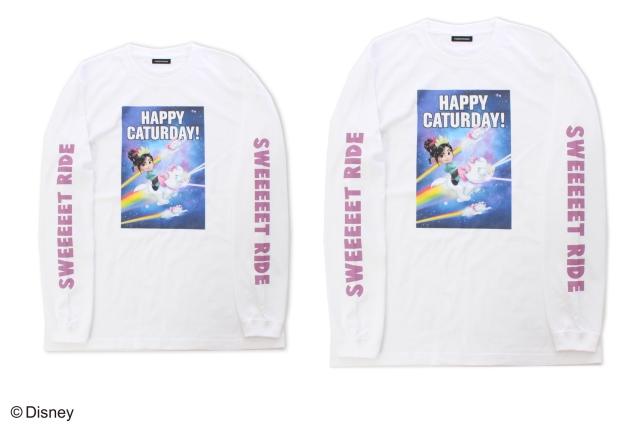 ヴァネロぺの白のロングTシャツ