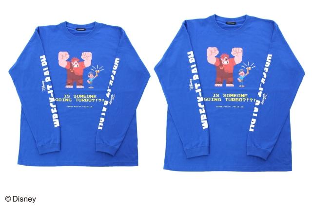 ラルフの青のロングTシャツ