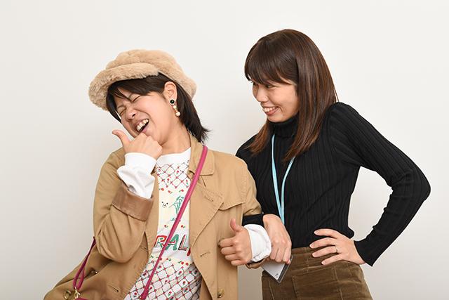 すっかり意気投合する木村と相馬さん