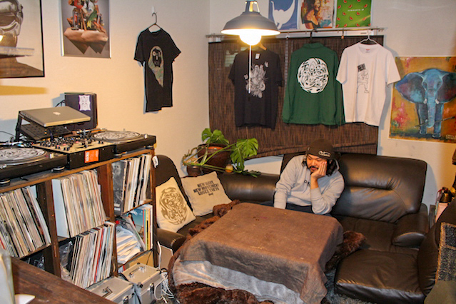 DIYで趣味部屋を作った前田さん