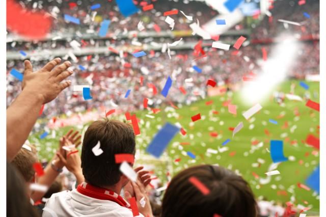 スポーツ観戦のイメージ