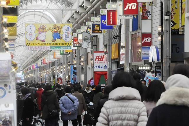 武蔵小山パルム商店街