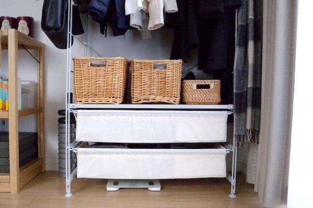 整理収納アドバイザー兼ミニマリスト・三吉まゆみさん宅の収納スペース