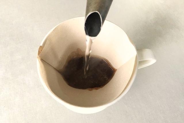 たんぽぽコーヒーを淹れる