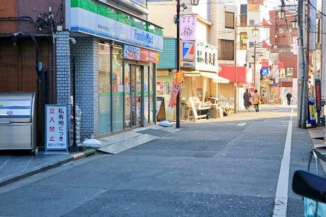 中井駅周辺の商店街