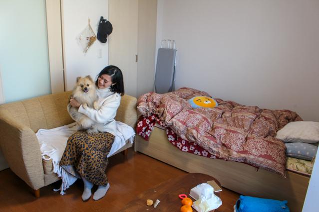 ペット可物件で一人暮らし中の倫さんと愛犬フィコ君