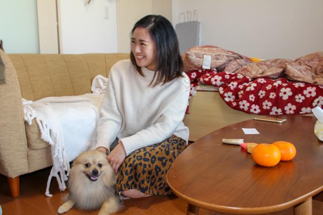 倫さんと愛犬フィコ君